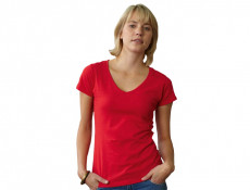Lady Fit V-Neck T-shirt