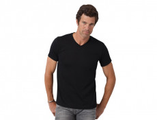 Ringspun V-neck Shirt
